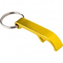 brelok otwieracz żółty