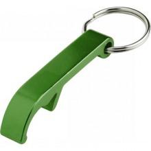 brelok otwieracz zielony