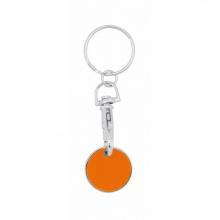 brelok żeton pomarańczowy