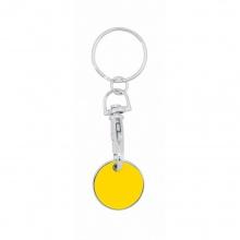 brelok żeton żółty