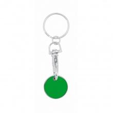 brelok żeton zielony