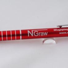 czerwony długopis touch pen z grawerem