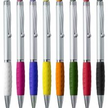 plastikowy długopis z gumką