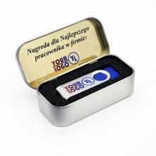 pamięć USB w medalowym etui z drukiem UV LED