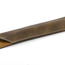 brązowe etui na długopis