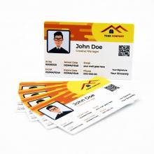 karty plastikowe wizytówka