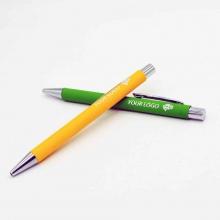 długopis soft z grawerem lustrzanym