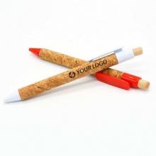 długopis korkowy z grawerem