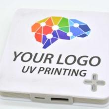 powerbank z drukiem UV full kolor