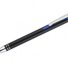 niebieski długopis z grawerem