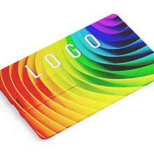 Pendrive w kształcie karty z drukiem UV