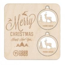 Kartka świąteczna w dowolnym kształcie