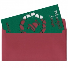 personalizowana kartka świąteczna