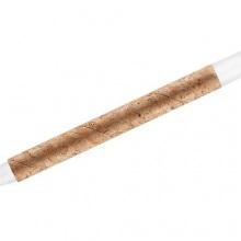 biały długopis korkowy