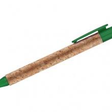 zielony długopis korkowy