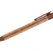 brązowy długopis korkowy