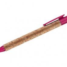fioletowy długopis korkowy