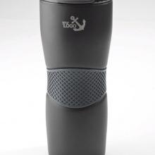 czarny kubek termiczny z grawerem
