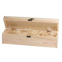 kuferek drewniany na prezent z grawerem