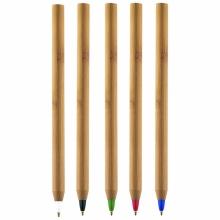 bambusowe długopisy
