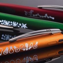 długopisy z podświetlanym logo