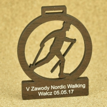 medal nordic walking