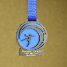 medal piłka ręczna pleksi
