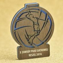medal siatkarz