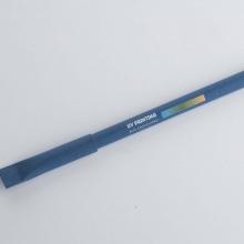 niebieski długopis z drukiem UV