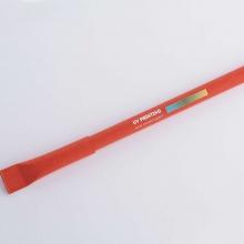 Czerwony długopis z drukiem UV