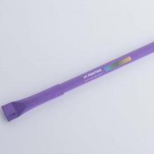 fioletowy długopis z drukiem UV