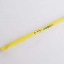 żółty długopis z drukiem UV