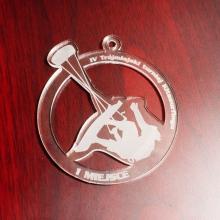 medal z pleksi i grawerem