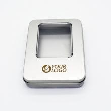 aluminiowa puszka na USB z grawerem