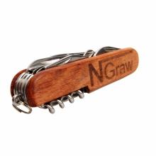 scyzoryk drewniany z grawerem