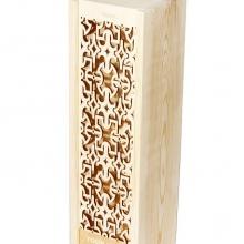 skrzynka drewniana na prezent