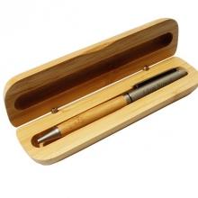 zestaw  piśmienniczy drewniany z grawerem