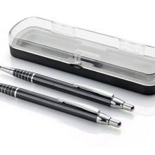 zestaw piśmienniczy długopis i ołówek czarny